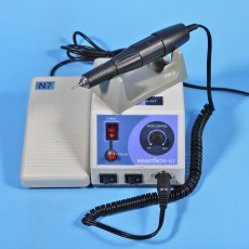 Dental Lab Micromotor Marathon Polishing Machine N7 w/ Handpiece 35K RPM Foot Pedal Speed Control