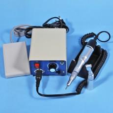 Dental Lab Micromotor Marathon Polishing Machine N3T 220V + 35K RPM Electric Motor + 2* Low speed handpiece