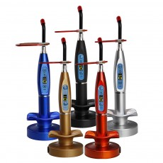 Dental 5W Curing Lamp Light Wireless Cordless LED 1500mw T1 5 COLORS AVAILABLE