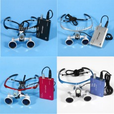 Dental Optical Surgical Binocular 3.5X Loupes Glasses 4 colors
